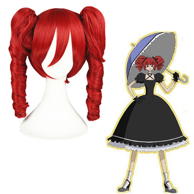 XxxHolic Ame-warashi Red Fashion Cosplay Wigs