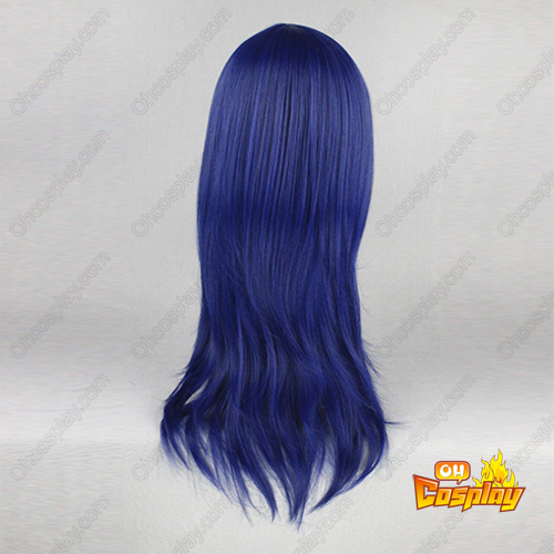The World God Only Knows Haqua Azul Escuro Perucas Cosplay