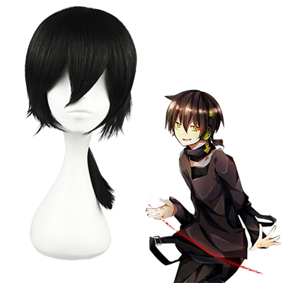 Kagerou project Konoha Black Cosplay Wigs