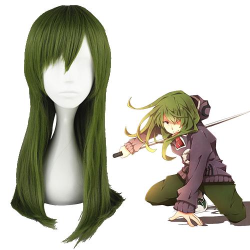 Kagerou project Kido Tsubomi Escuro Verde Perucas Cosplay