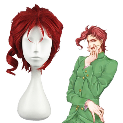 JoJo's Bizarre Adventure Kakyoin Noriaki Red Fashion Cosplay Wigs