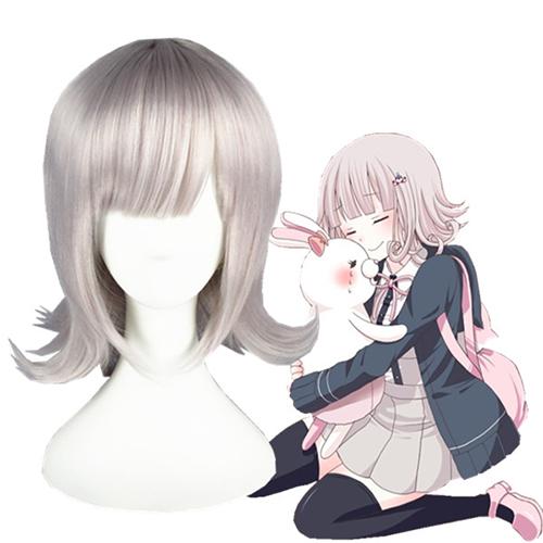 Данганронпа 2 Саёнара Дзэцубо: Гакуэн Nanami ChiaKi Розовый Косплей Парик