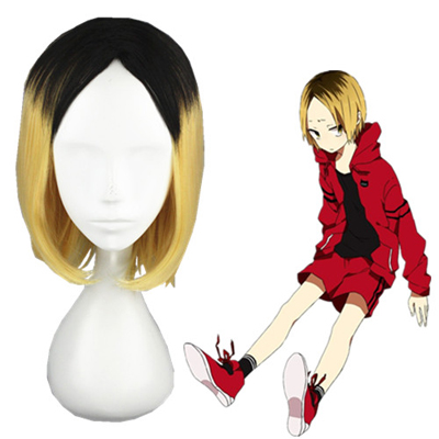 Haikyū!! kozumekenma 35cm Faschings Cosplay Perücken