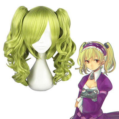 Unlight Sheri Peak Green Cosplay Wig