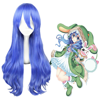 Date A Live Yoshino Himmelblå Cosplay Parykker
