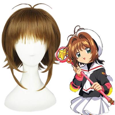 Cardcaptor Sakura Kinomoto Sakura Bruin Cosplay Pruiken