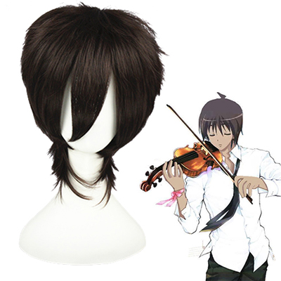 Shakugan No Shana Sakai Yuuji Dark Brown Cosplay Wig