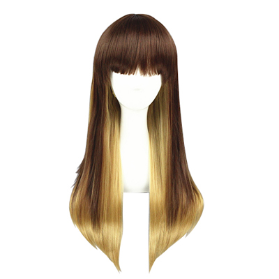 Japanese Harajuku Cute Lolita Zipper Cosplay Wig