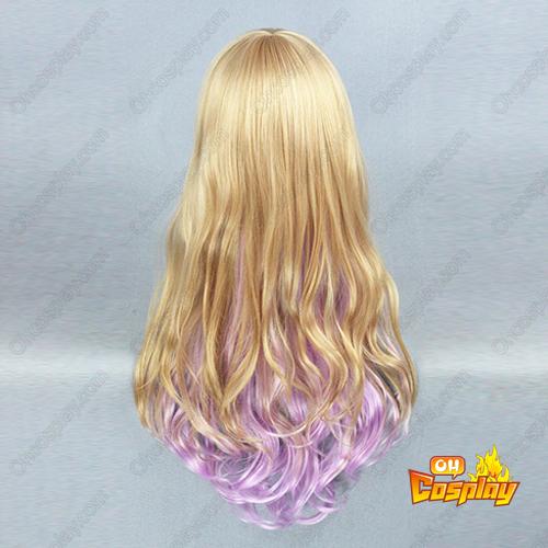 Harajuku Lang Lolita Curls Rits Cosplay Pruiken