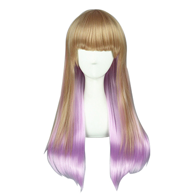 Harajuku Long Sweet Lolita Zipper Cosplay Wig