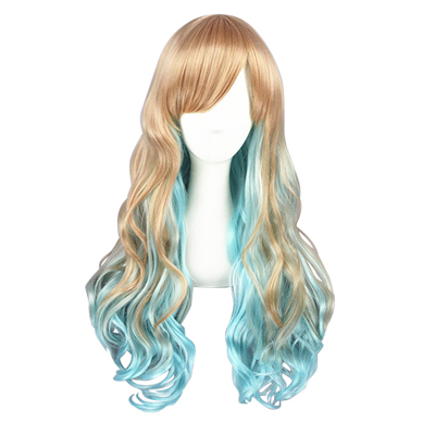 Kawaii Harajuku Sweet Lolita Zipper Cosplay Wig
