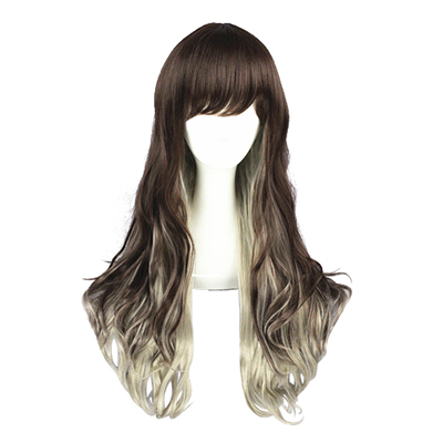 Lolita Long Sweet Harajuku Zipper Cosplay Wig