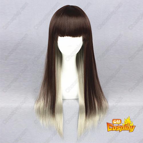 로리타 패션 단 하라주쿠 지퍼 65cm 코스프레 가발