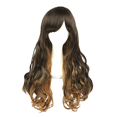 Lolita Cute Harajuku Zipper 65cm Fashion Cosplay Wigs