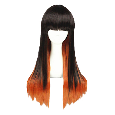 Japanese Long Sweet Lolita Harajuku Zipper 65cm Cosplay Wig
