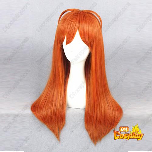 월간순정 노자키 군 Sakura Chiyo 주황색 코스프레 가발