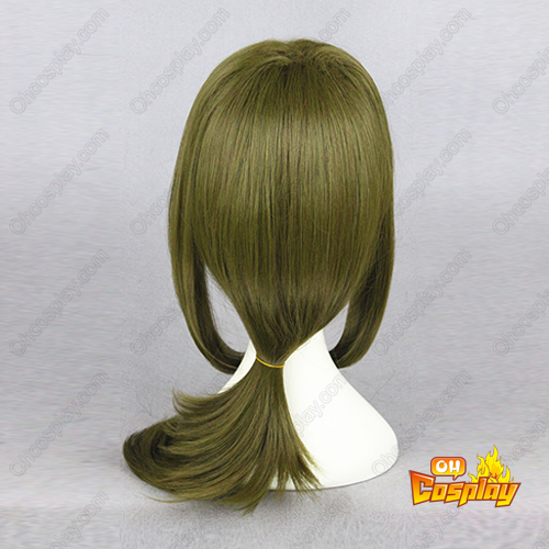 Monthly Girls\' Nozaki-kun Seo Yutsuki Marrom-Verde Perucas Cosplay