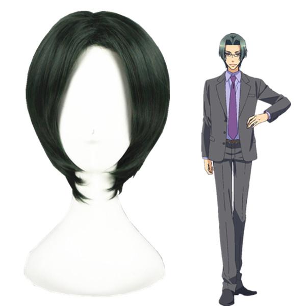 Любовная сцена Rei Sagara Темно-зеленый Косплей Парик