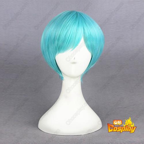 Touken Ranbu Online Ichigo Hitofuri Aqua Azul Perucas Cosplay