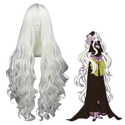 Kagerou Project Kozakura Shion White Cosplay Wig