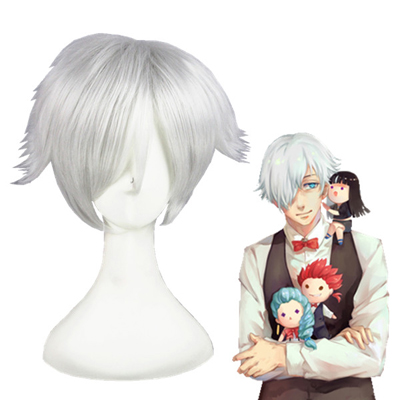 Death Parade Decim Cosplay Pruiken
