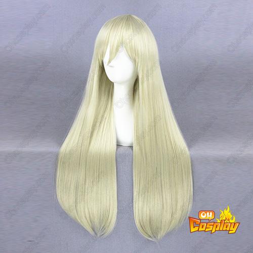 Kantai Collection Shimakaze Licht Blonde Cosplay Pruiken
