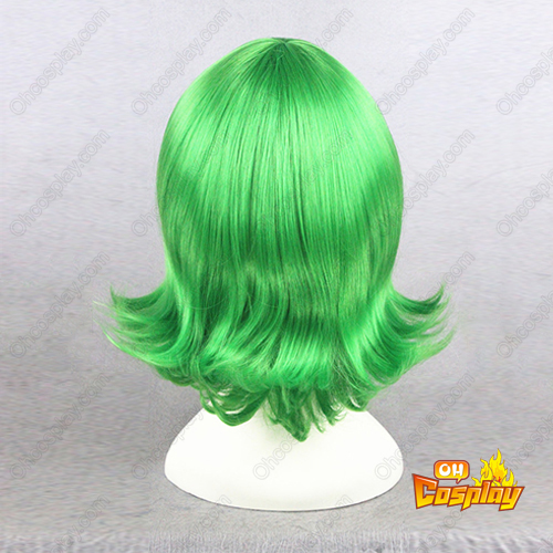 Inside Out Disgust Verde Perucas Cosplay