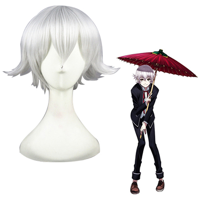 K Isana Yashiro White Fashion Cosplay Wigs
