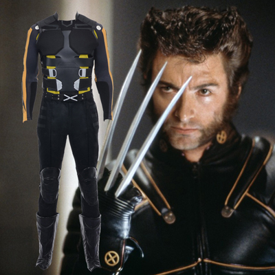 Costumi Carnevale X Men Wolverine Cosplay Set Completo