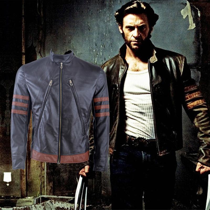 Fantasias de X Men Wolverine Cosplay Jaqueta