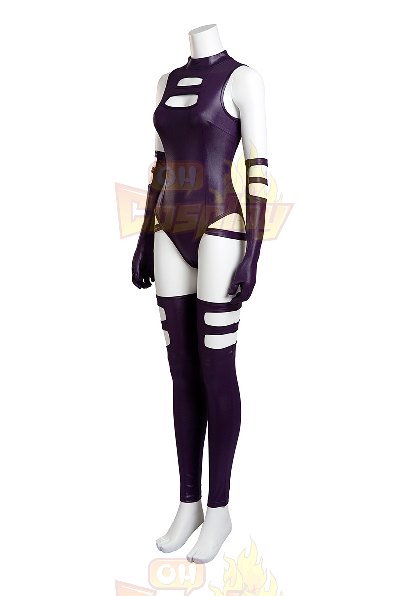 X Men Psylocke Purple Fighting Service Cosplay Kostüme Österreich