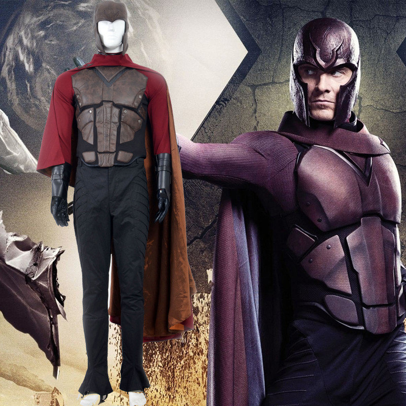 X Men Magneto Fighting Service Cosplay Κοστούμια