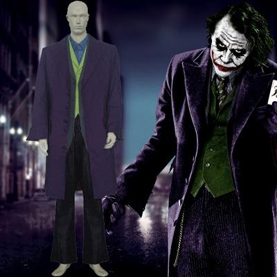 Fantasias Batman & Joker Dark Knight Cosplay