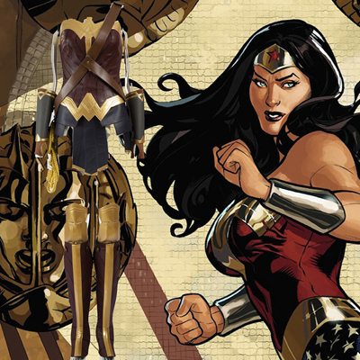 Batman v Superman: Dawn of Justice Wonder Woman Fighting Service