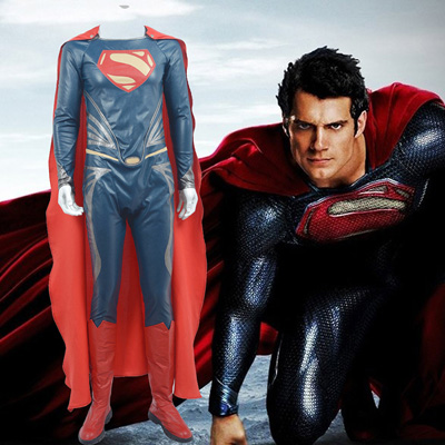 Costumes Batman v Superman: Dawn of Justice Superman Fighting Service Costume Carnaval Cosplay