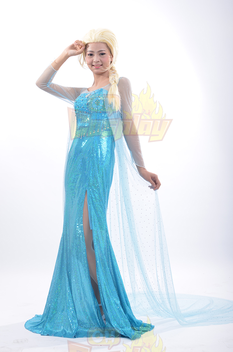 Disney Κατάστημα Ψυχρά κι Ανάποδα Πριγκίπισσα Elsa Κοστούμια φορέματα