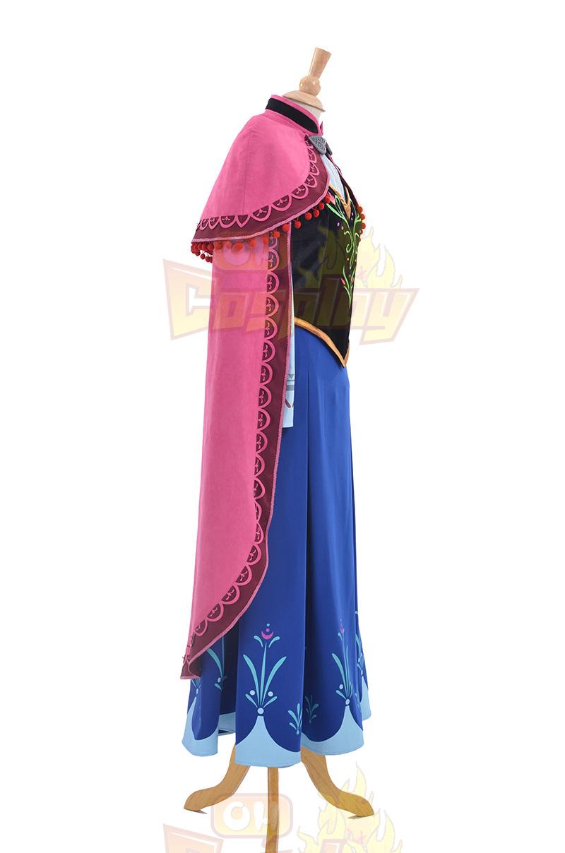 Disney Store Frozen Princezná Anna Kostýmy Šaty