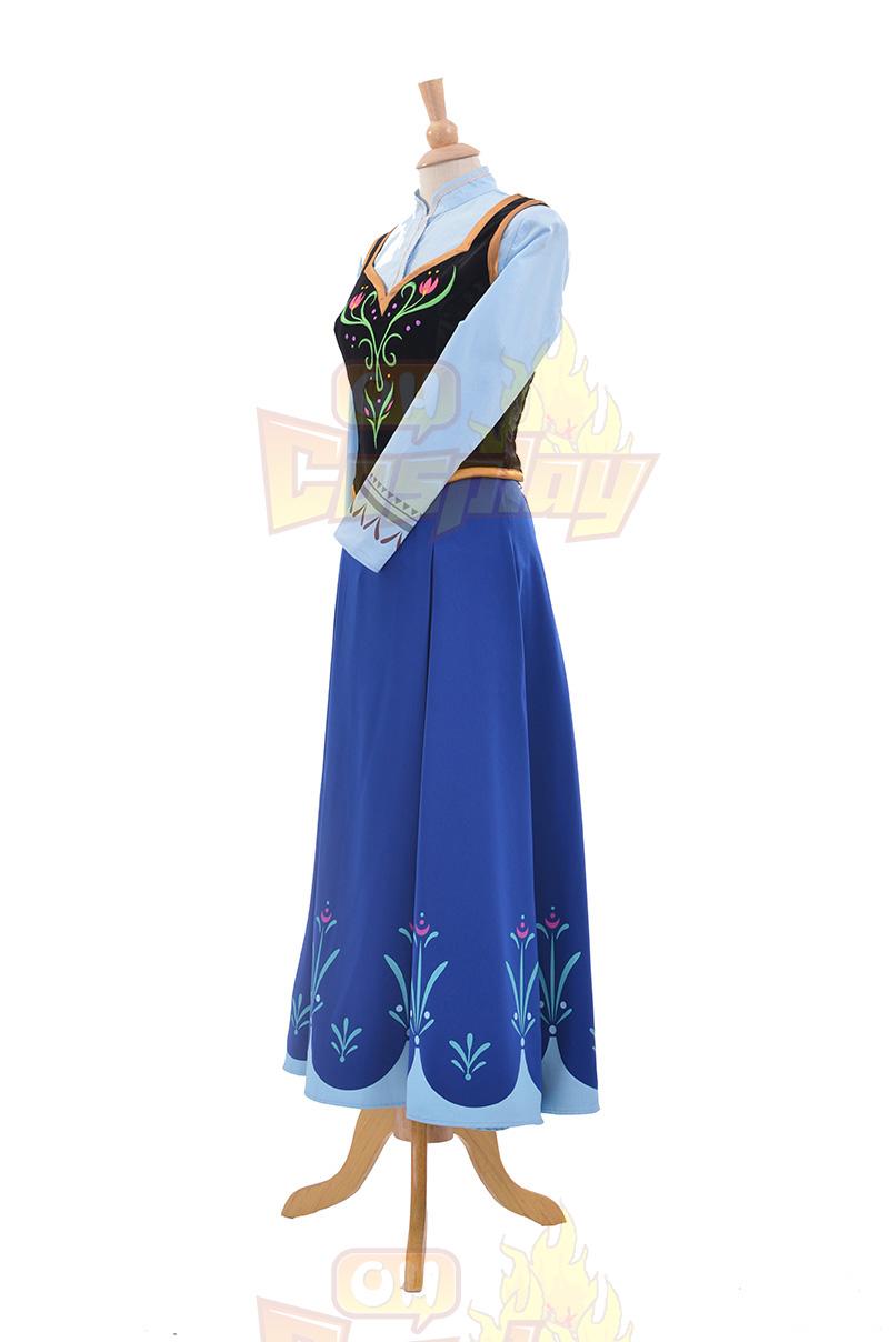 Fantasias de Loja da Disney Frozen Princess Anna Vestidos