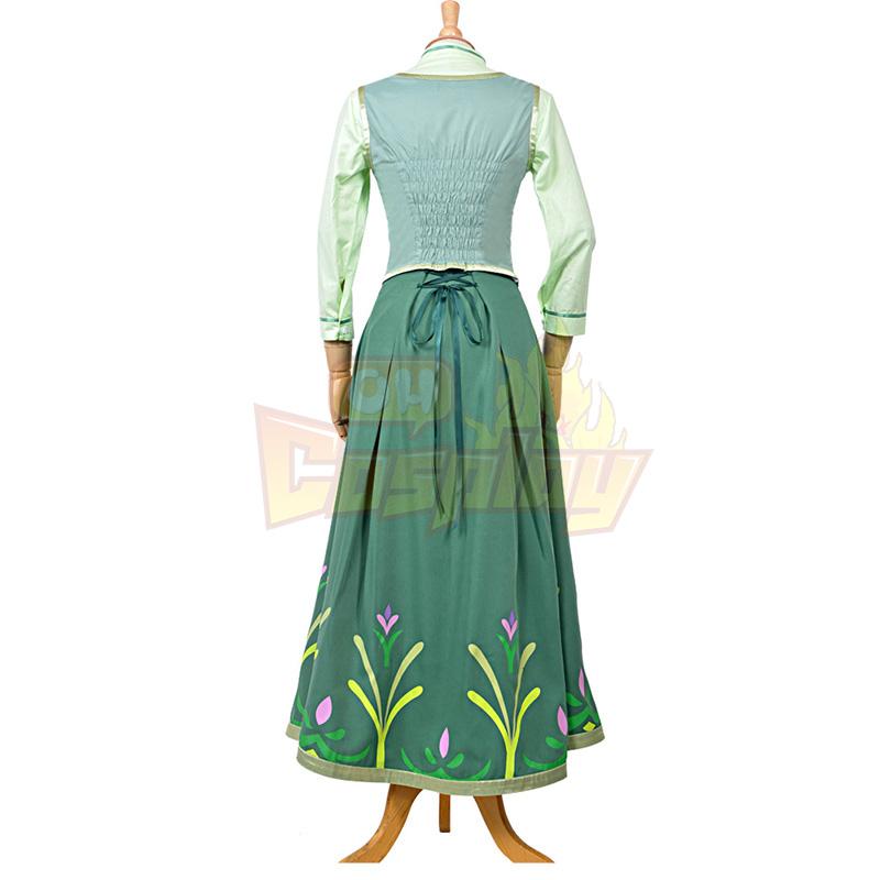 Disney Store Frozen Princess Anna Cosplay Kostymer