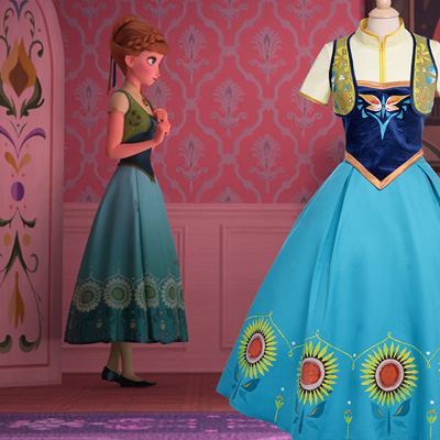 Disney Store Frozen Princess Elsa Birthday Dresses