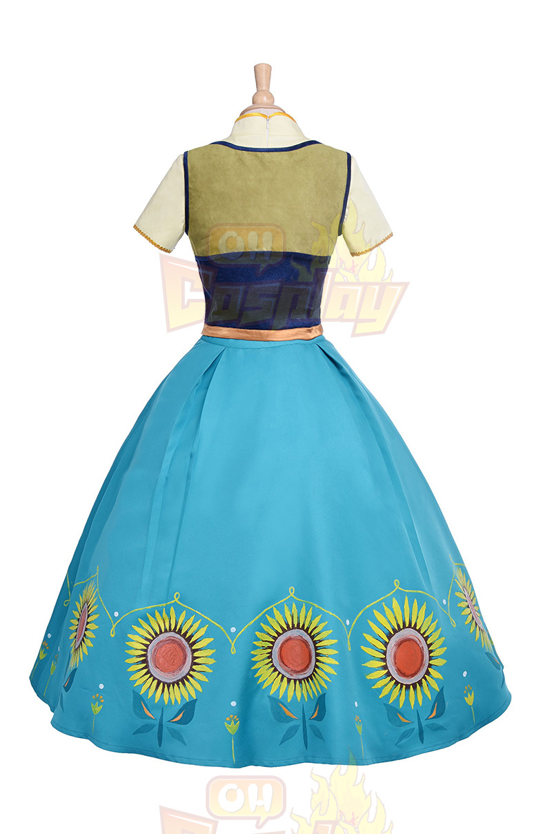 Fantasias de Loja da Disney Frozen Princess Elsa Birthday Vestidos