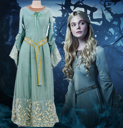 Disney Maleficent Princess Aurora Cosplay Halloween Kostymer