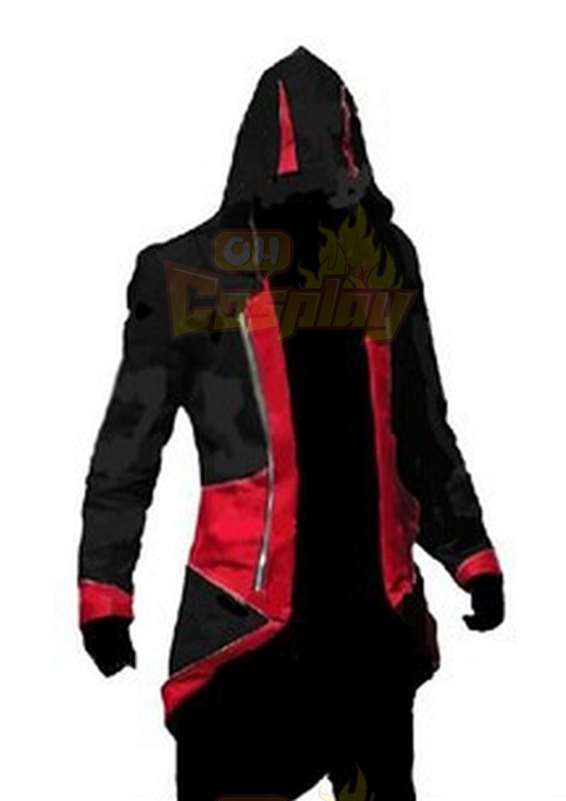 Assassins Creed 3 III Conner Kenway Capuchon 5 Colors jas Jasje