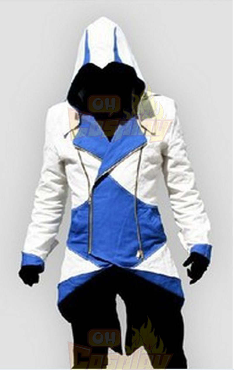Assassins Creed 3 III Conner Kenway Hoodie 5 Colors Coat Jakke