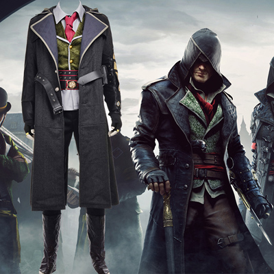 Assassin's Creed Syndicate Cosplay Karneval Kläder