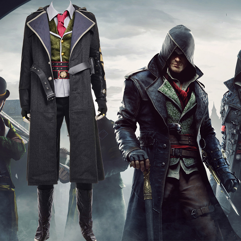 Assassin S Creed Syndicate Cosplay Costumes Cosplaymade Com