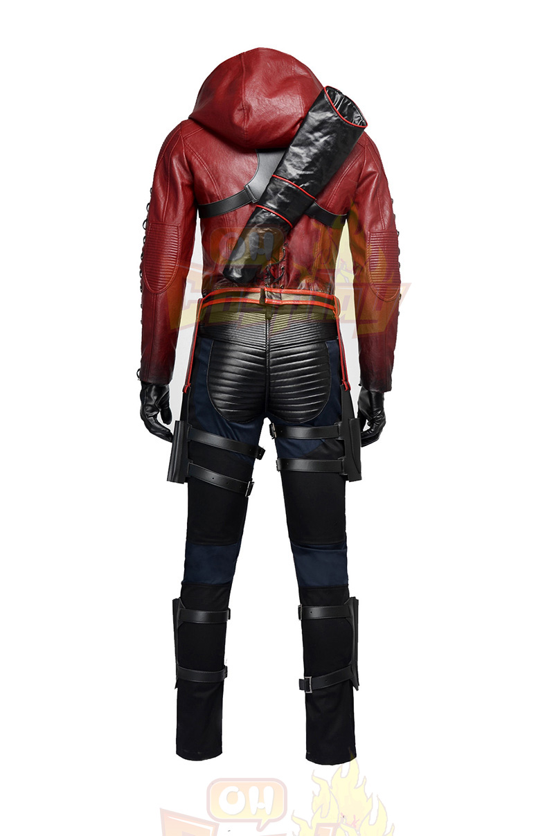 Arrow II Roy Harper Upgraded Version Red Cosplay Κοστούμια