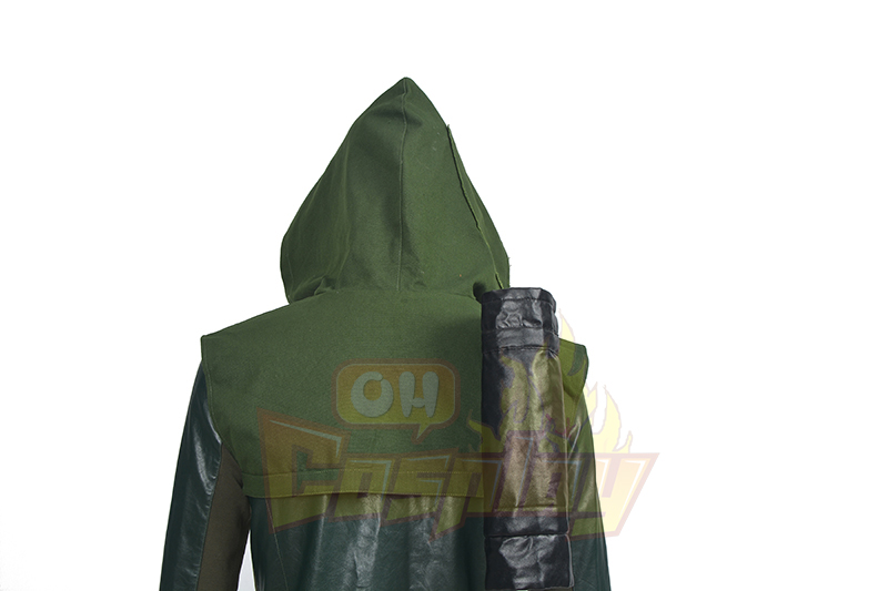 Arrow III Oliver Queen Green Upgraded Version Cosplay Kostýmy