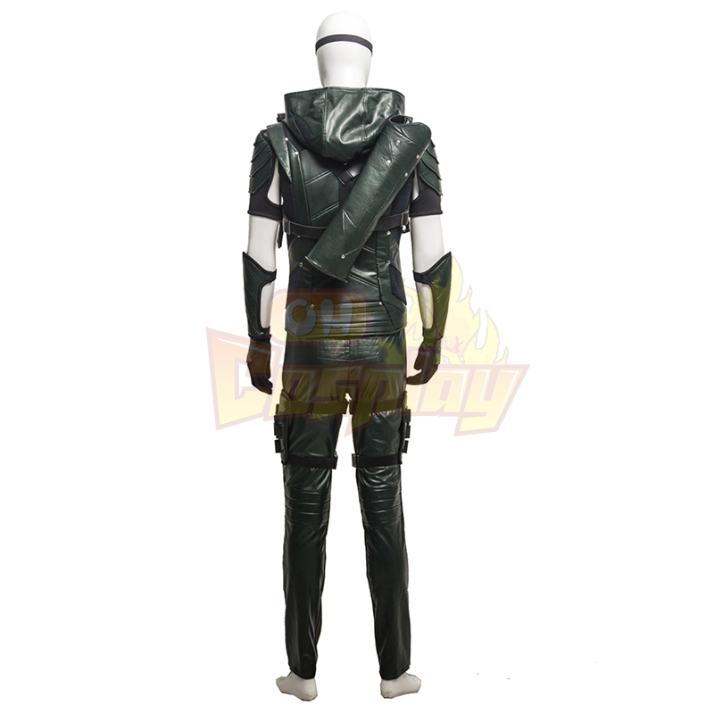 Arrow IIII Oliver Queen Upgraded Version Green Cosplay Ruhák