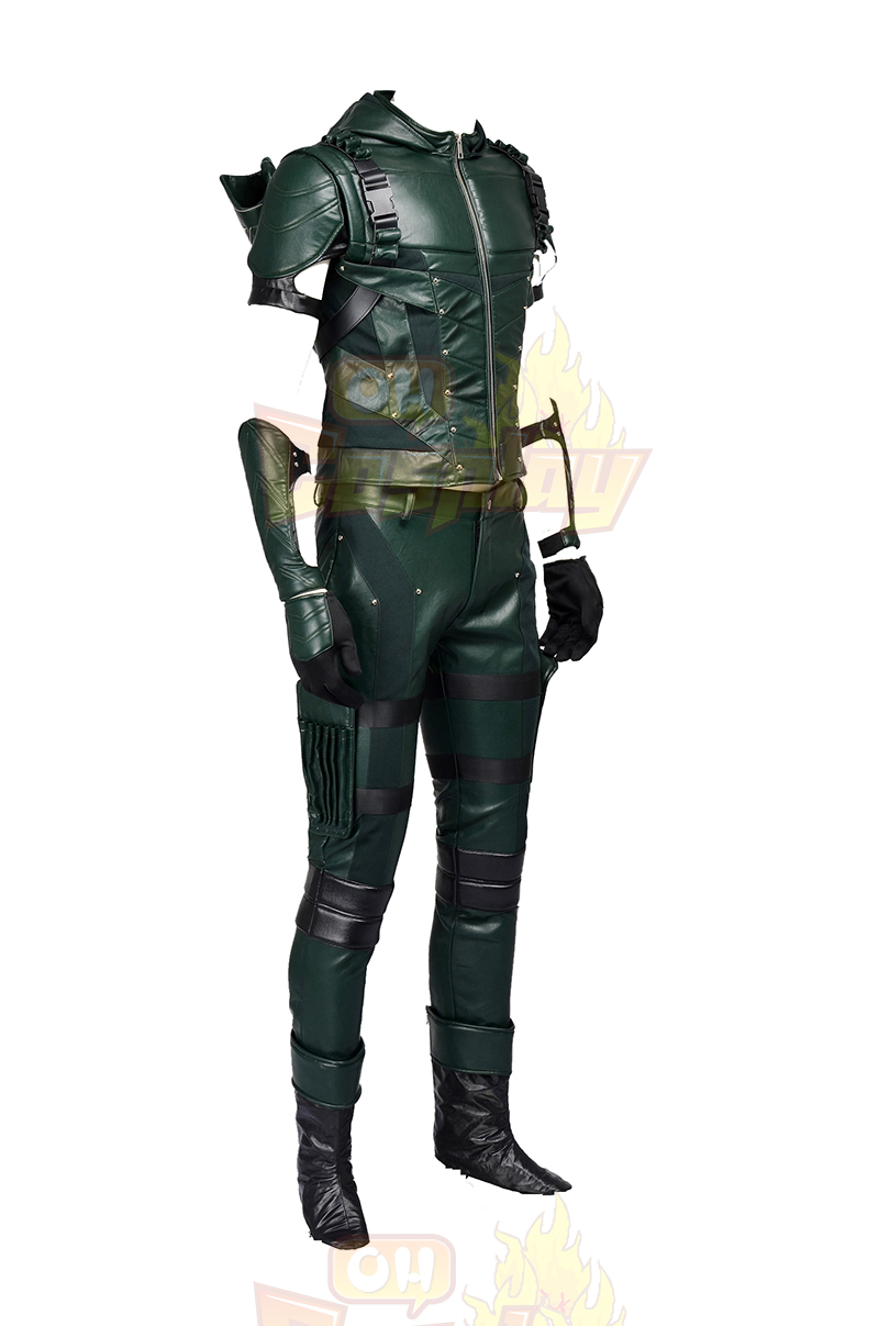 Costumes Arrow IIII Oliver Queen Green Costume Carnaval Cosplay